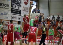 2. meč polufinala Super lige: Mega Leks - Crvena zvezda Telekom